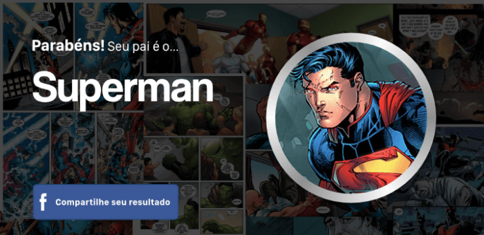 Quiz dia dos pais - Superman