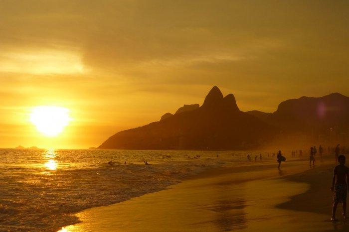 ponto turistico do rio de janeiro na praia de ipanema