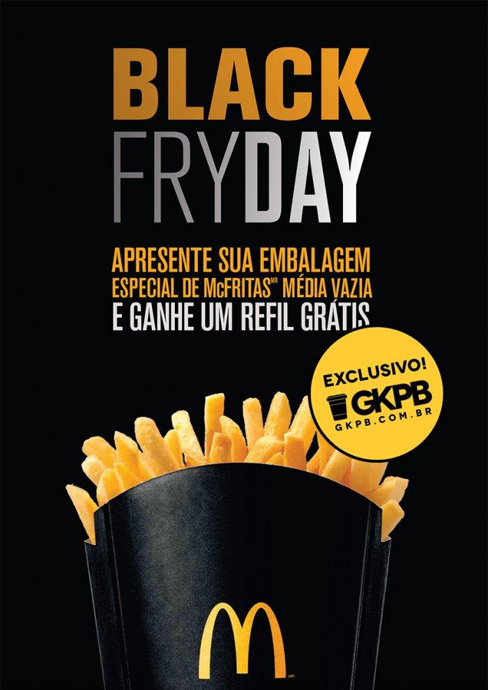 McDonald's oferece Refil de Batata Frita na Black Friday