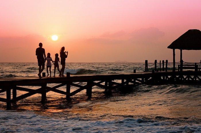 Viajar barato com a família