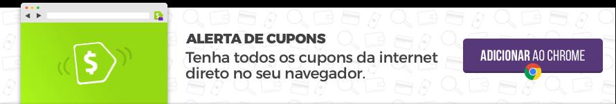 Alerta de Cupons - Tenha o Cuponomia no seu navegador para sempre economizar!