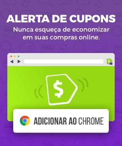 Alerta de Cupons: Clique aqui para adicionar ao seu navegador e sempre economizar nas suas compras