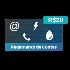 Desconto de R$20 para Pagamento de Contas