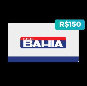 Créditos de R$150 nas Casas Bahia