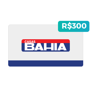 Créditos de R$300 nas Casas Bahia