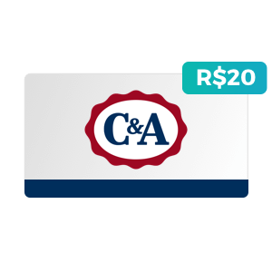 Créditos de R$20 na C&A
