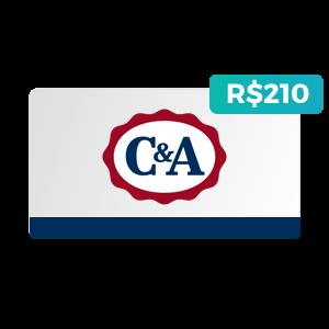 Créditos de R$210 na C&A