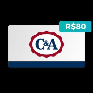 Créditos de R$80 na C&A