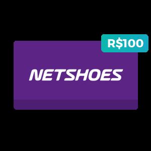 Créditos de R$100 na Netshoes
