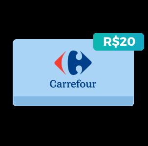 Créditos de R$20 no Carrefour