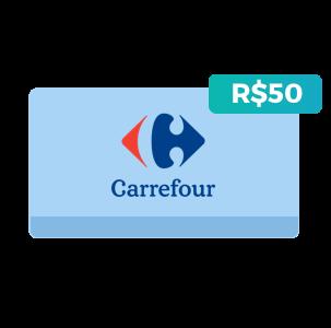 Créditos de R$50 no Carrefour