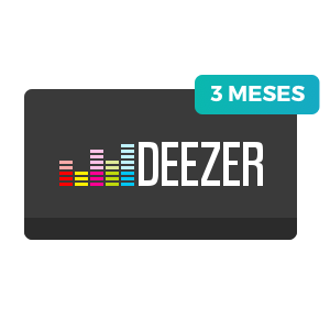 3 meses de Deezer Premium+