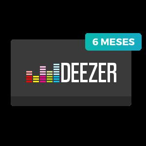 6 meses de Deezer Premium+