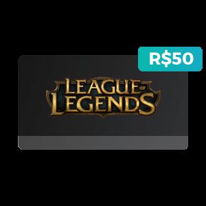 Créditos de R$50 no League of Legends