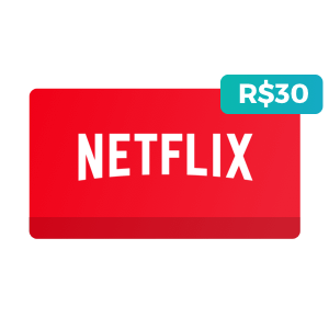 Créditos de R$30 no Netflix