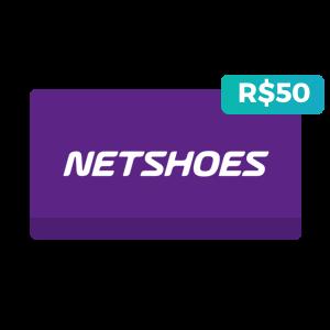 Créditos de R$50 na Netshoes
