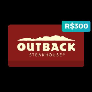 Créditos de R$300 no Outback