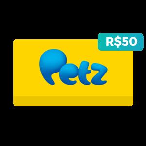 Créditos de R$50 na Petz