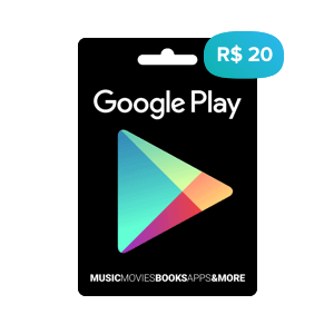 Gift Card da Google Play Store