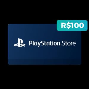 Créditos de R$100 na PlayStation Store