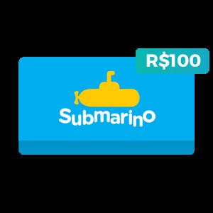 Créditos de R$100 no Submarino
