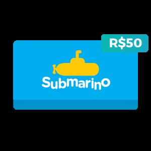 Créditos de R$50 no Submarino