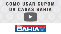 Veja como utilizar cupom de desconto da Casas Bahia