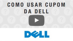 Veja como utilizar cupom de desconto da Dell