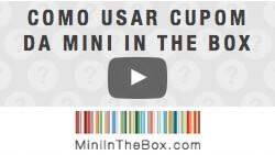 Veja como utilizar cupom de desconto da Mini In The Box